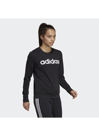 adidas W E Lin Sweat' Kadın Sweatshirt Siyah